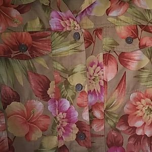Beautiful Alfred dunner floral Jacket 8